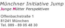 Münchner Initiative Jump - Junge Mütter Perspektiven