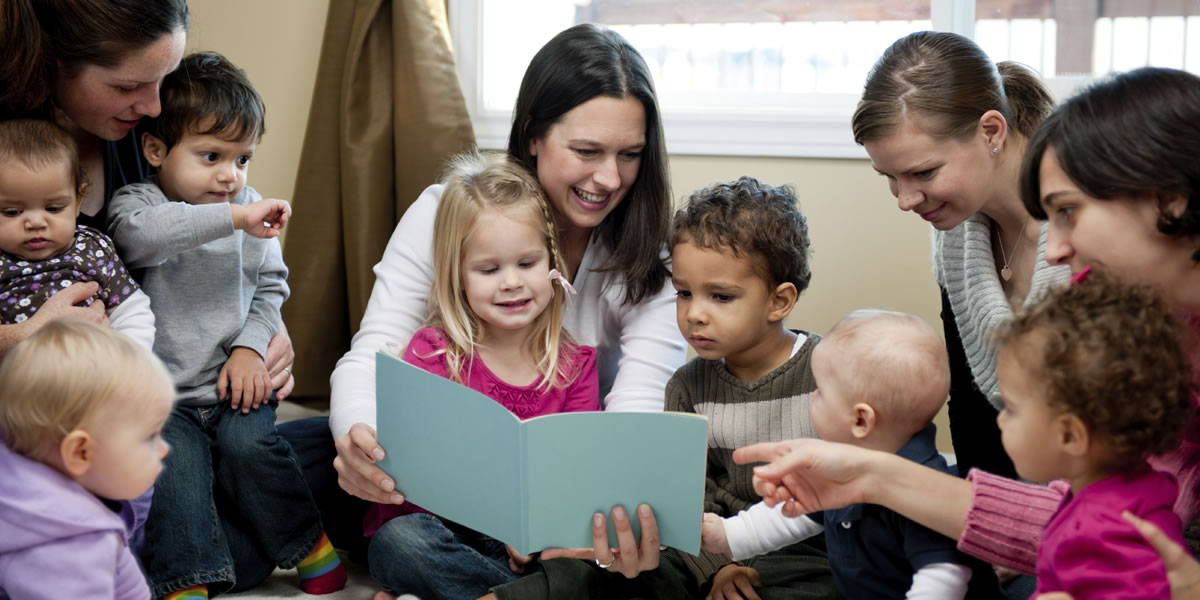 Hilfen für junge Mütter